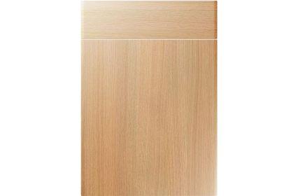 Unique Brecon Light Ferrara Oak kitchen door