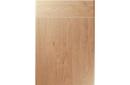 Unique Brecon Light Winchester Oak kitchen door