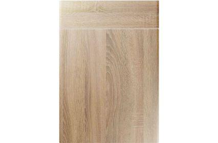 Unique Brecon Sonoma Oak kitchen door