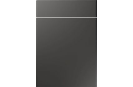 Unique Brecon Super Matt Graphite kitchen door