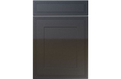 Unique Bridgewater High Gloss Anthracite Sparkle kitchen door