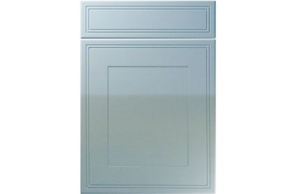 Unique Bridgewater High Gloss Blue Sparkle kitchen door
