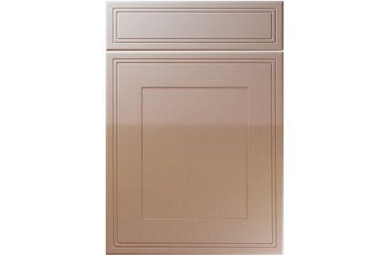 Unique Bridgewater High Gloss Cappuccino kitchen door