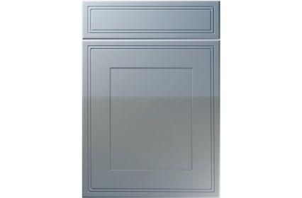 Unique Bridgewater High Gloss Denim kitchen door