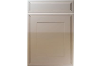 Unique Bridgewater High Gloss Stone Grey kitchen door
