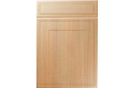 Unique Bridgewater Light Ferrara Oak kitchen door