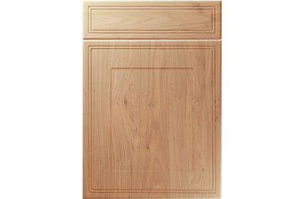 Unique Bridgewater Light Winchester Oak kitchen door