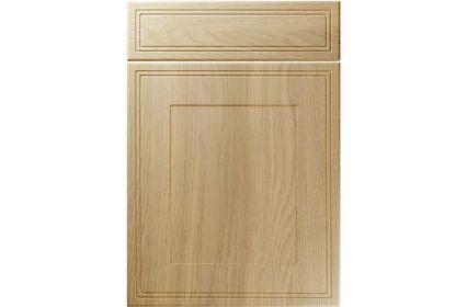 Unique Bridgewater Lissa Oak kitchen door
