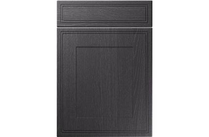 Unique Bridgewater Painted Oak Graphite kitchen door