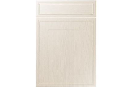 Unique Bridgewater Painted Oak Ivory kitchen door