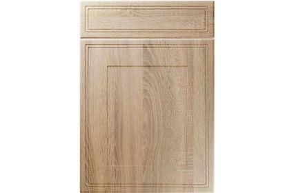 Unique Bridgewater Sonoma Oak kitchen door
