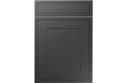 Unique Bridgewater Super Matt Graphite kitchen door