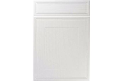 Unique Bridgewater Super White Ash kitchen door