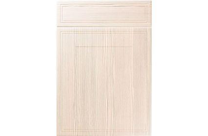 Unique Bridgewater White Avola kitchen door