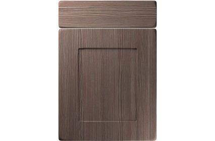 Unique Brockworth Brown Grey Avola kitchen door