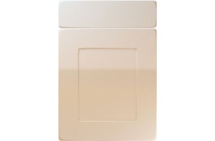 Unique Brockworth High Gloss Sand Beige kitchen door