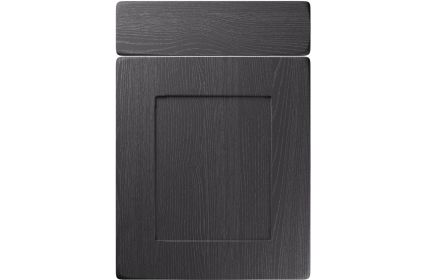 Unique Brockworth Painted Oak Graphite kitchen door