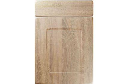 Unique Brockworth Sonoma Oak kitchen door