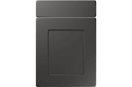 Unique Brockworth Super Matt Graphite kitchen door