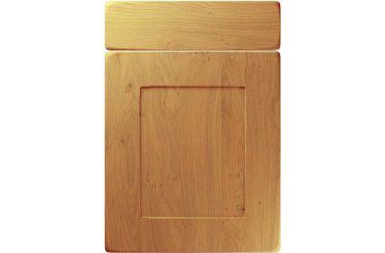 Unique Brockworth Winchester Oak kitchen door