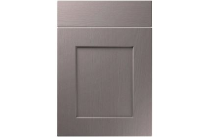Unique Caraway Painted Oak Dust Grey kitchen door