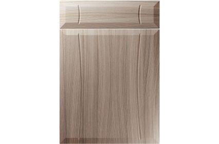 Unique Chardonnay Driftwood kitchen door