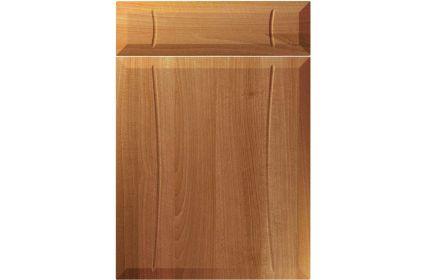 Unique Chardonnay Natural Aida Walnut kitchen door