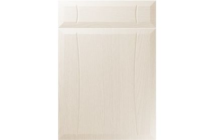 Unique Chardonnay Painted Oak Ivory kitchen door