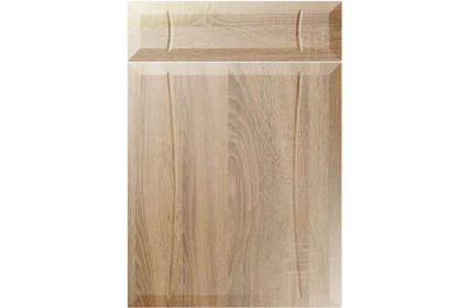 Unique Chardonnay Sonoma Oak kitchen door