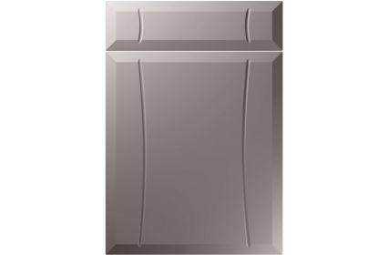 Unique Chardonnay Super Matt Dust Grey kitchen door
