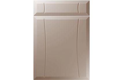 Unique Chardonnay Super Matt Stone Grey kitchen door