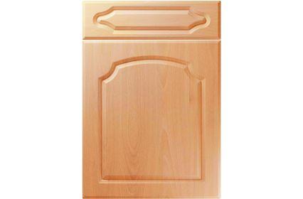 Unique Chedburgh Ellmau Beech kitchen door