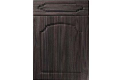Unique Chedburgh Hacienda Black kitchen door