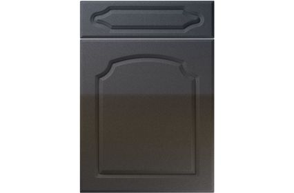 Unique Chedburgh High Gloss Anthracite Sparkle kitchen door