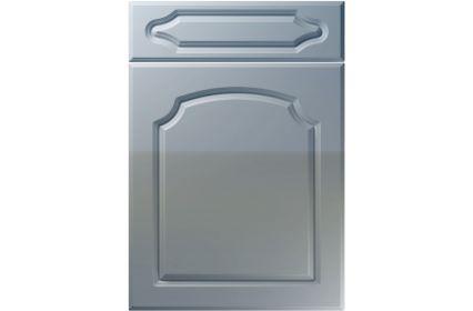 Unique Chedburgh High Gloss Denim kitchen door