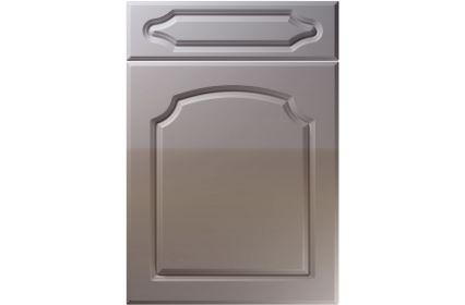 Unique Chedburgh High Gloss Dust Grey kitchen door