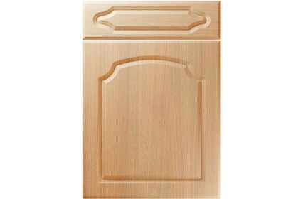 Unique Chedburgh Light Ferrara Oak kitchen door