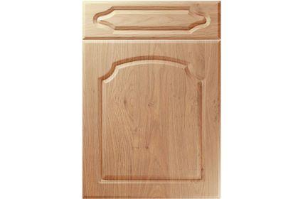 Unique Chedburgh Light Winchester Oak kitchen door