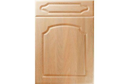 Unique Chedburgh Montana Oak kitchen door