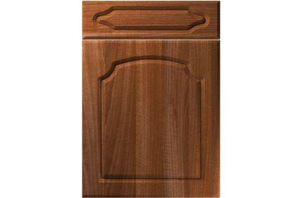 Unique Chedburgh Opera Walnut kitchen door