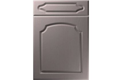 Unique Chedburgh Painted Oak Dust Grey kitchen door