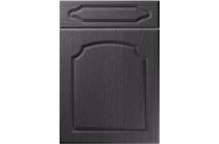 Unique Chedburgh Painted Oak Graphite kitchen door