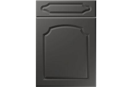 Unique Chedburgh Super Matt Graphite kitchen door