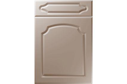 Unique Chedburgh Super Matt Stone Grey kitchen door