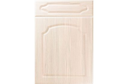 Unique Chedburgh White Avola kitchen door