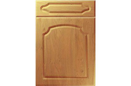 Unique Chedburgh Winchester Oak kitchen door