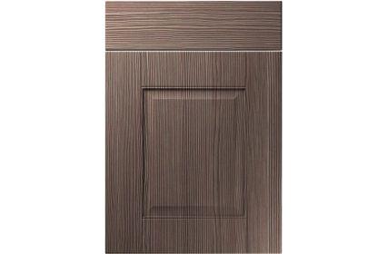 Unique Coniston Brown Grey Avola kitchen door