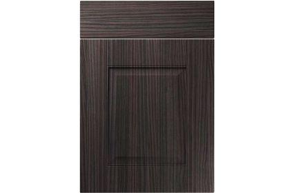 Unique Coniston Hacienda Black kitchen door