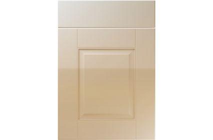 Unique Coniston High Gloss Dakar kitchen door