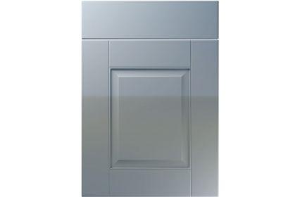 Unique Coniston High Gloss Denim kitchen door